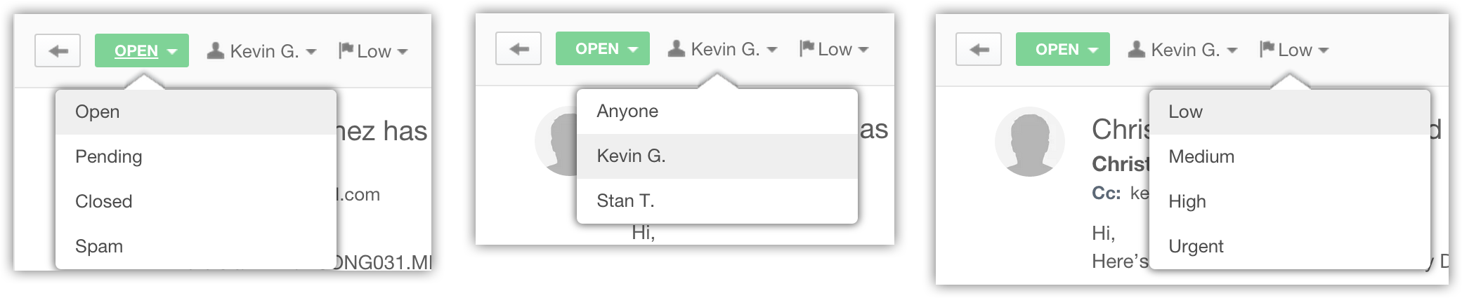 Status-Assign-Priority