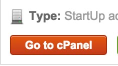Go to Cpanel
